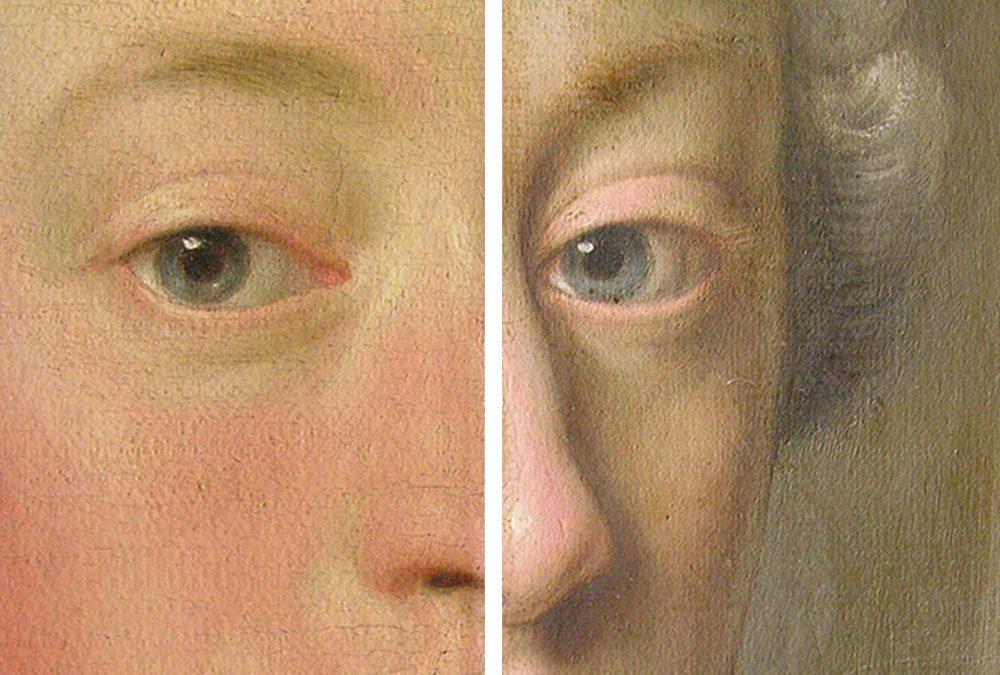Porträt – Öl auf textilem Träger